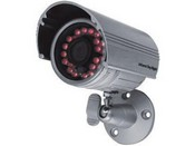 Seco Larm EV-1606-N2SQ IR LED Bullet Camera with 12 IR LEDs, 2.9mm lens, 120° Viewing Angle, 540 TV lines, IP66 Weatherproof, and Silver Housing