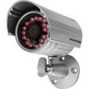 Seco Larm EV-1606-N6SQ IR LED Bbullet Camera with 24 IR LEDs, 6.0mm lens, 53° Viewing Angle, 540 TV lines, IP66 Weatherproof, and Silver Housing