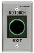 Seco Larm SD-927PKC-NEQ IR NO-Touch Request-To-Exit Sensor Green Illuminated Ring Turns Red