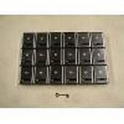 Seco Larm SS-078 Latching Panic Button (Lot of 18) with One Key