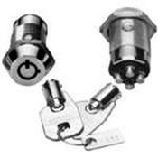 Seco Larm SS0922AO Dual Spst, Shunt-On/On High-Security Tubular Key Lock Available In Key1300 Only Two Switches - One Always On While
