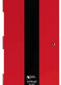 Honeywell Fire Systems 122417 Red Plain Cabinet for 5895 Power Supply