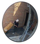 Se-Kure Controls CVO-30 Outdoor Convex Mirror 30 Inches
