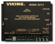 Viking Electronics SLP-4 Single Line Paging Controller with CD Qu