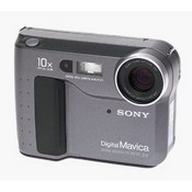 Sony MVC-FD73 0.3MP Mavica Digital Camera w/ 10x Optical Zoom