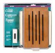 Safety Technology RC-3306 Battery Powered Door Chime, Wood Cover