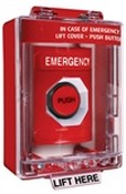 Safety Technology SS2087E Stopper Station Pushbutton with Cover and Spacer