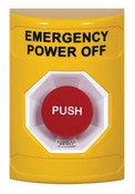 Safety Technology SS2201PO Yellow Pushbutton No Cover