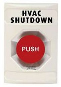 Safety Technology SS-2301 Stopper Station, White, Push - Turn to Release Button