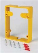 Safety Technology STI-3100-Y Conduit Spacer - Clear for Stopper II and Weather Stopper Series - Yellow