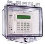 Safety Technology STI-7510A Polycarbonate Enclosure with Enclosed Deep Backbox and Exterior Key Lock