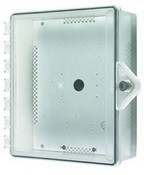 Safety Technology STI-7520-HTR Heated NEMA 4X Polycarbonate Enclosure - Key Lock – SF-7520HTR