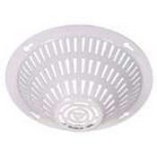 Safety Technology STI-8200-W Smoke Detector Damage Stopper, Flush Mount - White Coated Steel