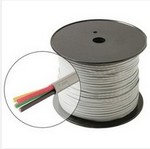 Steren Electronics - Usa 300741 24Ga/4C Round Solid Station Wire Spool P