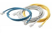 Steren 308-503 3' Cat5e UTP Patch Cord, BL / GY