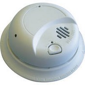 Sperry West SW2200AC Smoke Detector Straight-Down View Color Camera