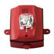 System Sensor P2RKP Red Outdoor Horn Strobe, Plain