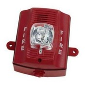 System Sensor P4RK Red, Four-Wire, Outdoor Horn Strobe