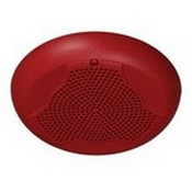 System Sensor SPCR Ceiling, Red, Speaker Only