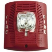 System Sensor SPSRV Red Wall Mount High db Speaker Strobe