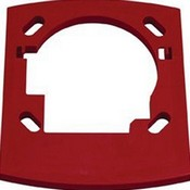 System Sensor TR Red Wall Mounted Trim Ring. Provides Additional Space In Backbox
