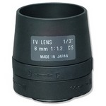 Tamron Usa 13FM08T 8mm F/1.2 Monofocal Manual Iris Lens
