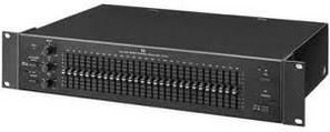 TOA Electronics E-1231 Single Channel, 28-Band 1/3 Octave Graphic Equalizer