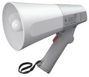 TOA Electronics ER-520W 10-Watt Hand Grip Megaphone with Whistle