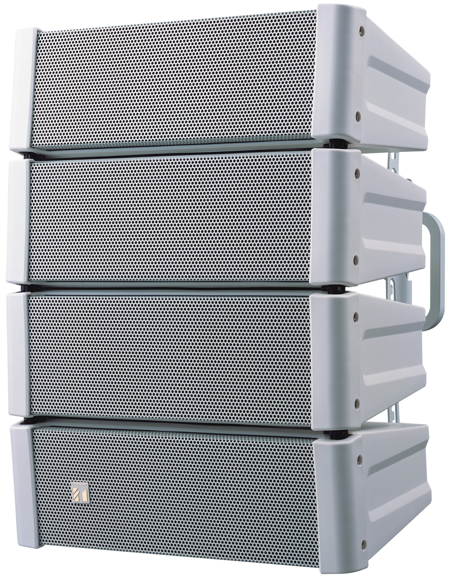 TOA Electronics HX-5W Variable Dispersion Line Array Speaker (White)