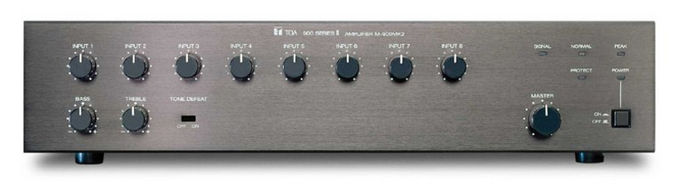 TOA Electronics M-900MK2 8-Channel Modular Mixer/Preamplifier