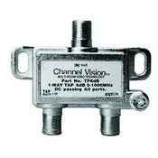 Channel Vision TP24DB 24DB Line Tap Coaxial TAP Splitter - 2 Way