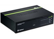 Trend Net TE100-S16EG 16-Port 10/100Mbps GREENnet Switch