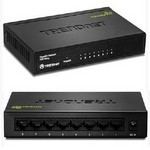 Trend Net TEGS82G 8-Port Gigabit Greennet Switch /W Metal
