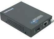Trend Net TFC-1000MGB Intelligent 1000Base-T to SFP Media Converter