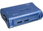 Trend Net TK-207K 2-Port USB KVM Switch Kit