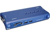 Trend Net TK-407K 4-Port USB KVM Switch Kit