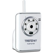 Trend Net TVIP121WN SecurView Wireless Day/Night Internet Camera SECURE VIEW WIRELESS DAY NIGHT INTERNET CAMERA Color - CMOS - Wireless Wi-Fi, Cable