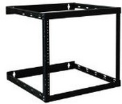 Tripp-Lite SRW08U22 Wall Mount 2-Post Open Frame Rack Cabinet 8U/14U/22U (Black)