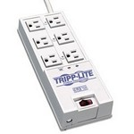 Tripp-Lite TR6 6 Surge Suppressor, 6 Outlet, 6ft Cord, 2420 Joules – TRPTR6