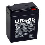 Universal Power Group D5735 6V 8.5 Ah Battery