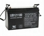 Universal Power Group UB121100 12Volt 110Amp Hour  Sealed Lead Acid Bat