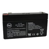 Universal Power Group UB613 6V 1.3Ah Lawn and Garden Battery - AJC Brand™ Replacement