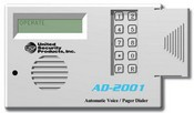 USP AD2001, Auto Voice Dialer with 2 VMZ's, 2 Input Channels