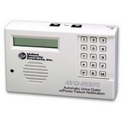 USP AVD-2005 Auto Voice Dialer with 4 VMZ's - 4 input channels - Built in Power Loss Sensor