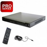 Videocomm Technologies HVR16CH1080P Pro-Series 16-Channel H.264 Ahd 720P, An