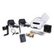 Videocomm MSC-244CX 2.4GHz 4-CH Wireless Color Pinhole Camera & Receiver Kit - Requires Rx Antenna