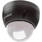 Bosch VEZ-423-ECCS Mini PTZ Vandal-Resistant Dome Camera (Clear Bubble, Charcoal)