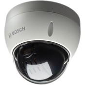 Bosch VEZ-423-EWCS Mini PTZ Vandal-Resistant Dome Camera (Clear Bubble, White)