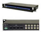 Nitek VH1656M 16 Port Active UTP Video Hu