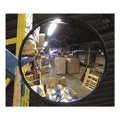 Vision Metalizer IC1200 Mirror, Circular, Acrylic, Convex, 12 In
